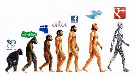 google+ evolucija među društvenim mrežama
